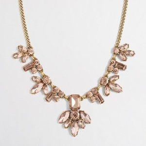 J Crew Centerpiece Crystal Necklace